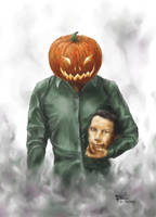 Pumpkinhead Self Portrait