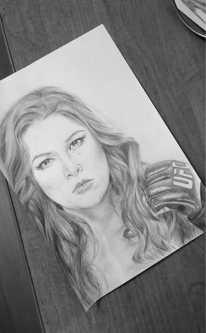 Ronda Rousey by Antylopa