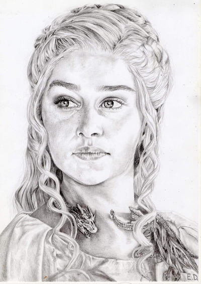 GOT: Daenerys Targaryen by Antylopa