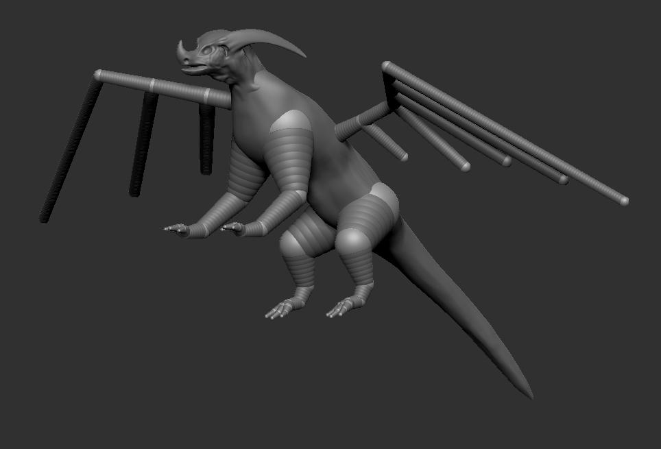 Dragon (WIP) by TheKilo