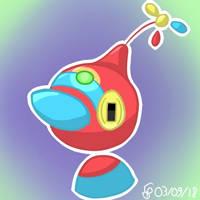 [Commission][Fakemon]Mega Porygon-Z by Sheinxy