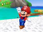 Mario mostly retextured