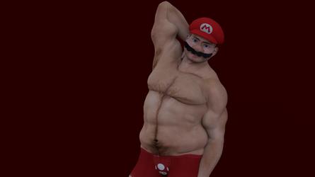 Mario Love You Long Time.