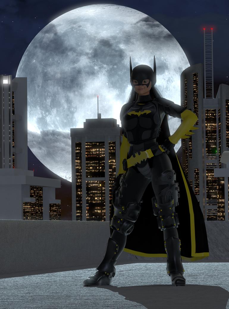 Batgirl by The--Grimreaper