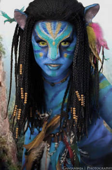 Neytiri AVATAR (Head Shot)