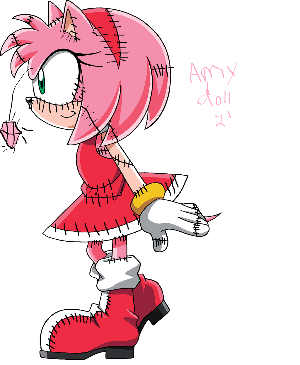 Amy Doll 2 by creeperexplosion11