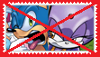 Anti Sonic x Blaze Stamp by anastasiathefox1