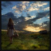 Evening by jane-mirage