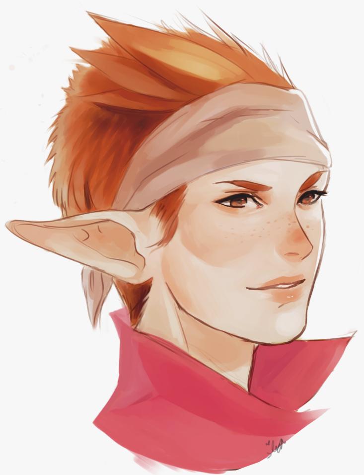 Orange Kid by Silvyen