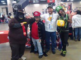 Cosplayers/ With Little Kuriboh