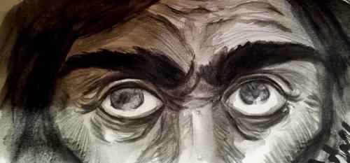 sketchbook: gray eyes