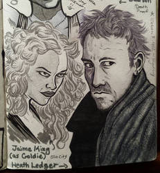 sketchbook: jaime and heath