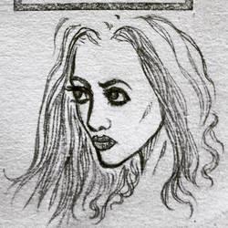 sketchbook: vellum girl by johnchalos