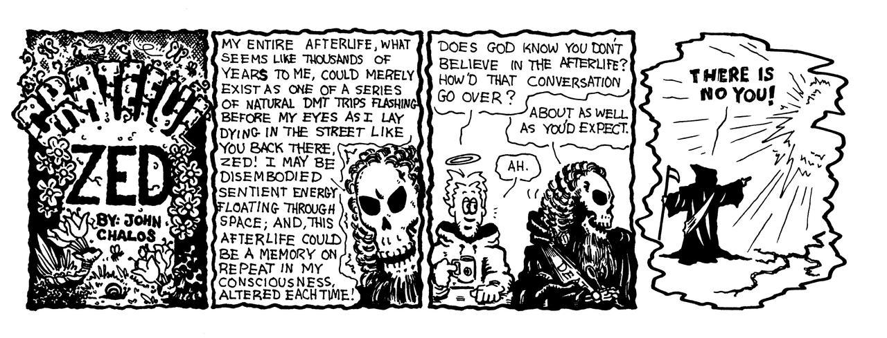 web comic: grateful zed by johnchalos
