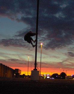 climbing the sunset by johnchalos