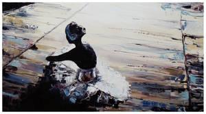 Sit Ballerina 08 by szklanytygrys
