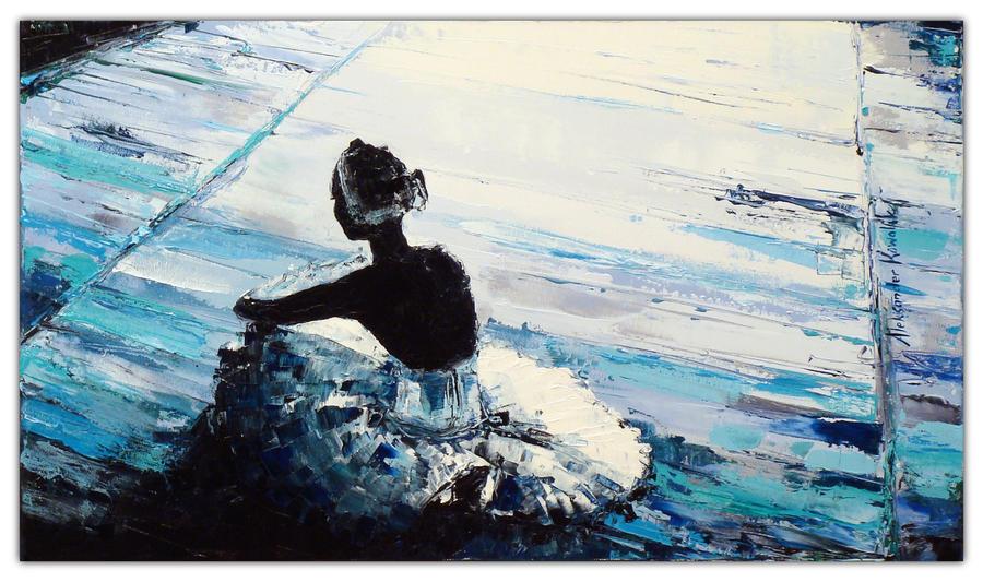 Sit Ballerina 09 by szklanytygrys