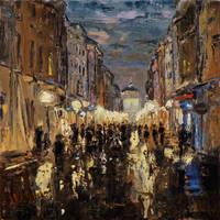 Florianska Street by szklanytygrys