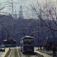 Krakow's Trams 05 by szklanytygrys
