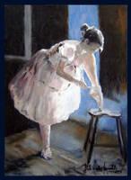 ballerina II by szklanytygrys