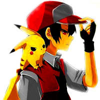 Red and Pika by SabrinaXKyoya