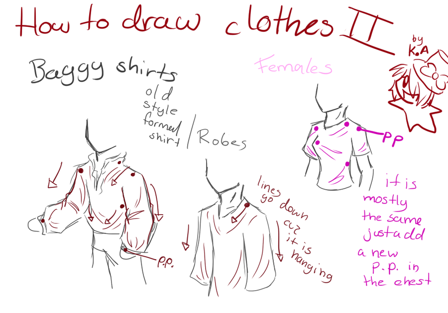 This is a graphic of Handy Drawing Clothes Tutorial