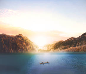 Lake by davidpradograficovid