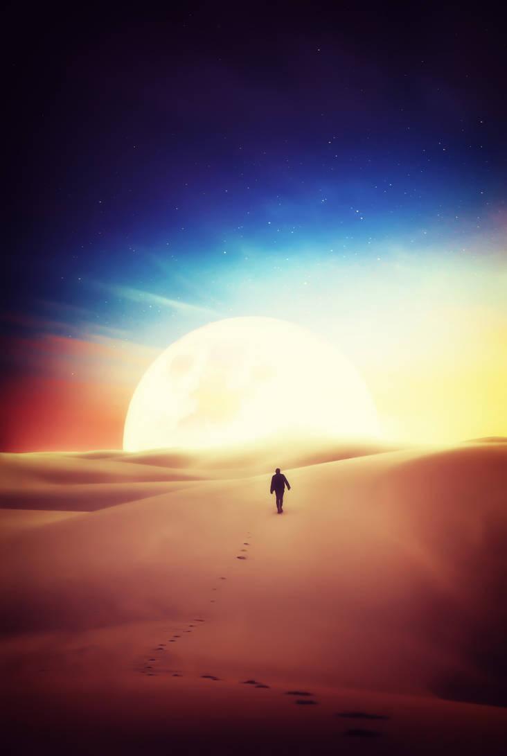 Desert by davidpradograficovid