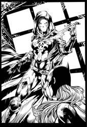 Bat Girl page 2 by Fendiin