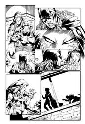 Bat girl page 3 by Fendiin