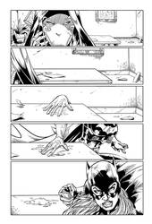 Bat girl page 4 by Fendiin
