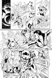 Green Lantern Corps Inks 1 by Fendiin