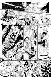 Green Lantern Corps Inks 2 by Fendiin