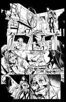 Wonder woman 2 inks by Fendiin