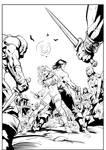 Conan vs red sonja inks