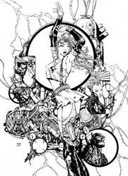 Aphrodite IX Cover Inks by Fendiin