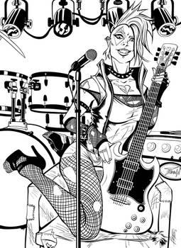 Punk Rock Harley
