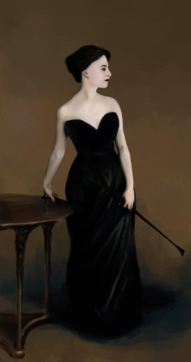 Irene Adler as Madame X by AnoukvanderMeer