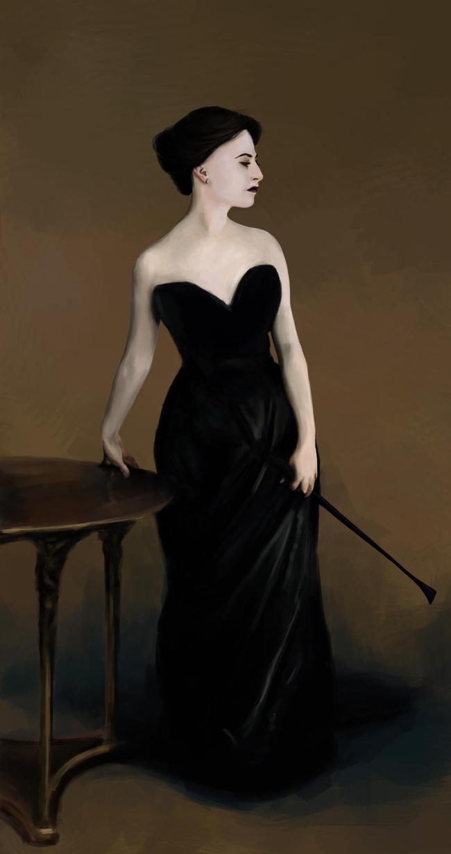 Irene Adler as Madame X by AnoukvanderMeer