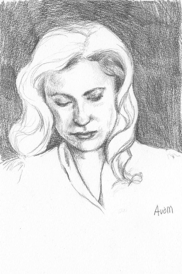Gillian Anderson - Bedelia Du Maurier by AnoukvanderMeer