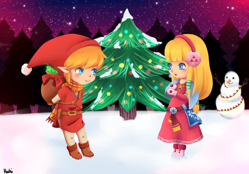 The Legend of Zelda - A Link to Christmas by HighlordHoshi on ...