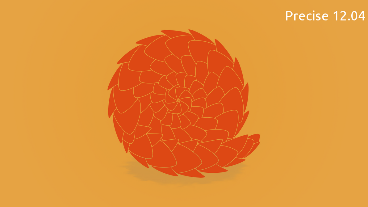 Ubuntu 12.04 ''Precise pangolin'' by purvaldur