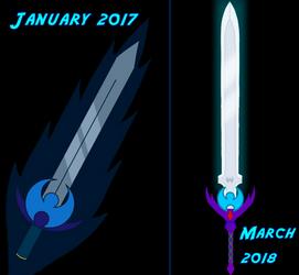 Summary of the Luna-Sword by BlackKyurem14