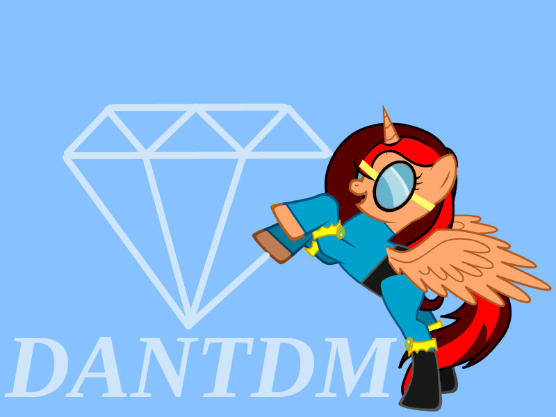 DanTDM Mlp Banner by Enderpony626