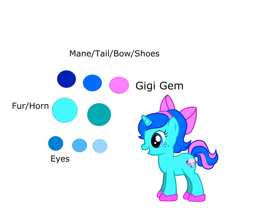 Gigi Gem Reference Sheet by Enderpony626