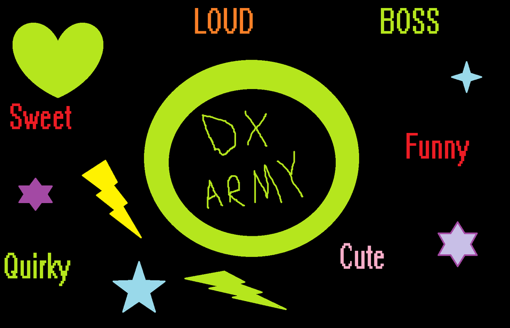 DX Army is a BOSS by Enderpony626