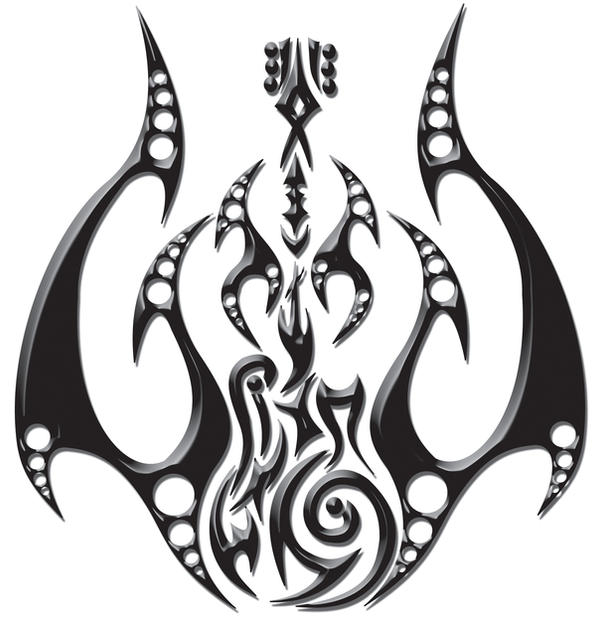 tribal guitar and flames by blakewise on deviantart