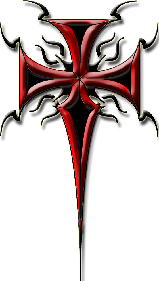 Pictures Of Tribal Cross Tattoos: Tribal Cross Tattoo 2 By Blakewise On DeviantArt