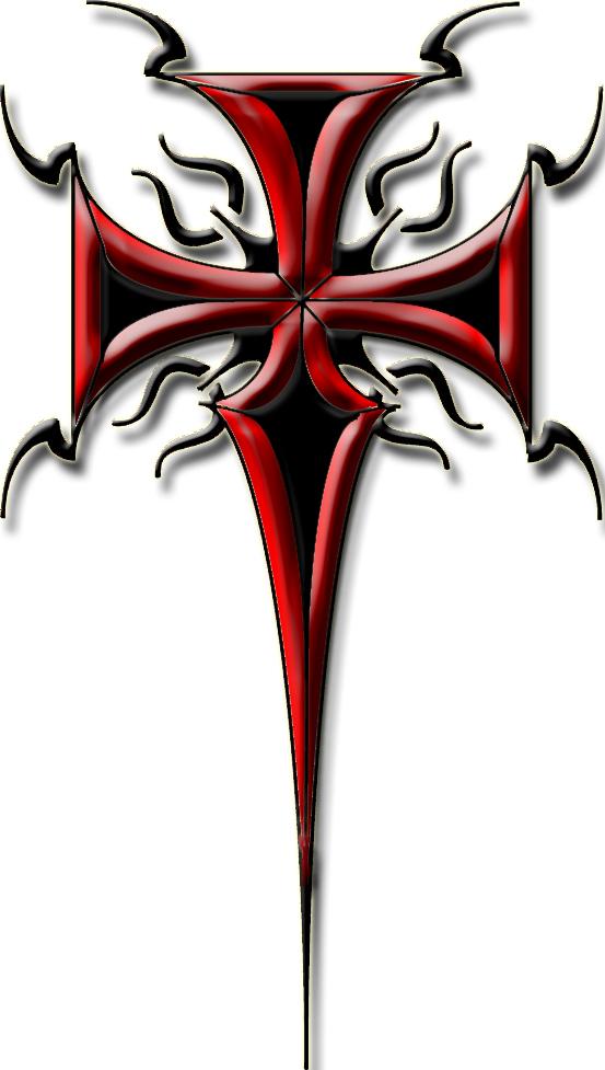 Tribal Cross Tattoo 2 By Blakewise On Deviantart