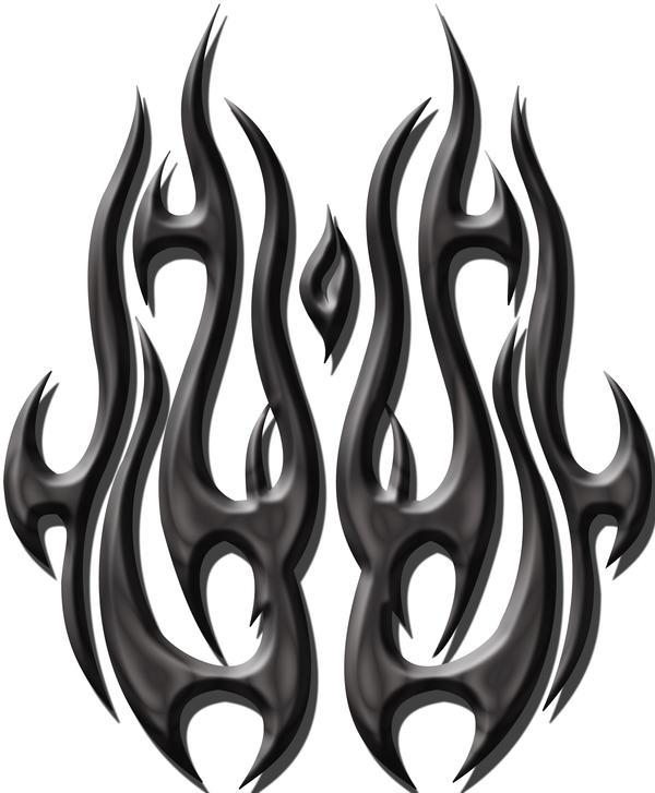 tribal flames by blakewise on deviantart. Black Bedroom Furniture Sets. Home Design Ideas